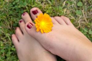 Gesunde Füße sind für die Gesundheit wichtig